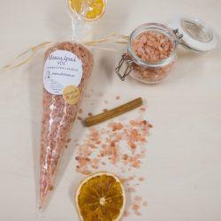 Himalájská sůl s pomerančem a skořicí